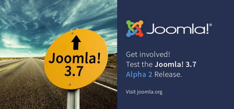 Liberada la versión Joomla! 3.7.0 Alpha 2